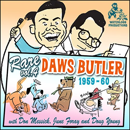 Rare Daws Butler, Vol. 4 audiobook cover art