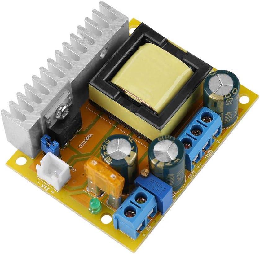 DC Boost Converter Module, High Voltage DC-DC Boost Converter 8-32V 12V to ±45V-390V ZVS Capacitor Charging for Test Power Supply of Voltage or Glow Tube, Boost Voltage Regulator Power Converter