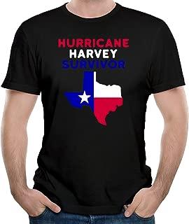 Hurricane Harvey Survivor Texas 2017 Men's T-Shirt