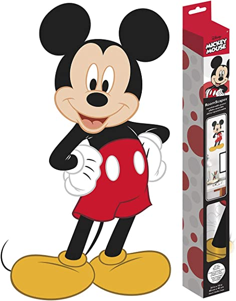Trends International Mickey Mouse Poster Decal 18 X 24