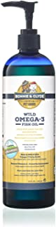 Wild Omega 3 Fish Oil for Dogs and Cats Supplement - Your Pets Will Love the Flavor - Natural Non-Soy, Non-GMO Vitamin E, for Skin, Coat and Joint Support - More EPA and DHA than Salmon and Krill Oil for Dogs and Cats - IFOS Certified Product