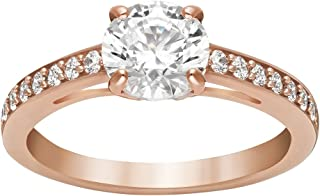 Attract Round Ring, Rose Gold-Plated