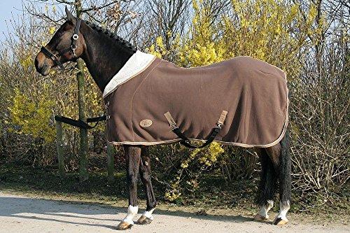 Harry's Horse 32200393-03215 cm - Coperta in pile con collo a 1/2, XL, colore: Marrone