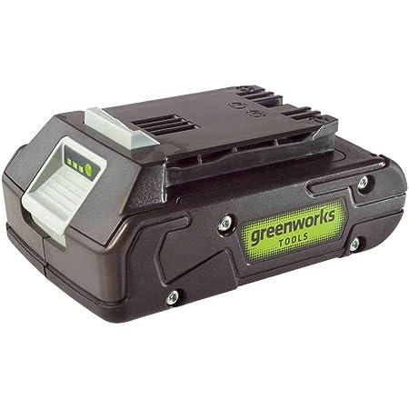 Greenworks Tools Akku G24b2 Li Ion 24 V 2 0 Ah Wiederaufladbarer Leistungsstarker Akku Passend Für Alle Geräte Der 24 V Greenworks Tools Serie Baumarkt