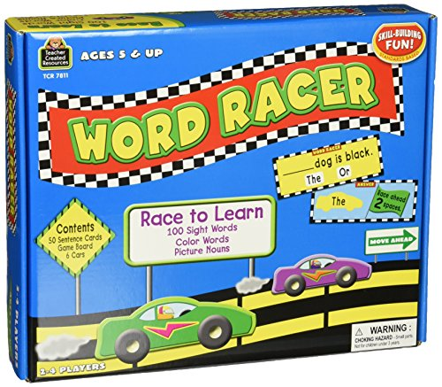Teacher Created Resources Word Racer Game (7811)