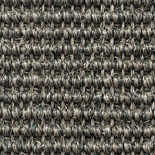 Teppichboden Auslegware | Sisal Naturfaser Schlinge | 400 cm Breite | hell-grau | Meterware, verschiedene Größen | Größe: 4 x 4m