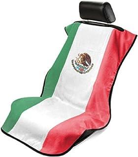 Seat Armour SA100MEXFL Black 'Mexican Flag' Seat Protector Towel