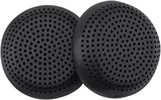 Replacement Ear Cushions for Skull Candy Grind Headphones (Black PU Leather)