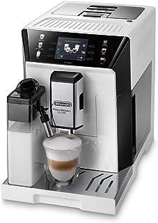 De'Longhi PrimaDonna Class ECAM 550.65.W - Cafetera automática con sistema de leche, capuchino y expreso pulsando un botó...