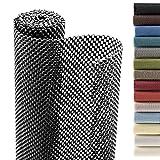 Smart Design Shelf Liner Premium Grip - (18 Inch x 8 Feet) - Drawer Cabinet Non Adhesive - Home & Kitchen [Black]