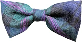 Mens 100% Wool Scottish Tartan Bow Ties