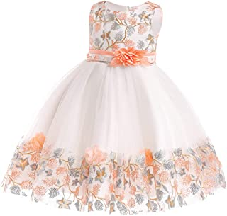 f1c72ce7fbc NSSMWTTC 6Months-10Years Flower Girl Dress Kids Pageant Party Dresses