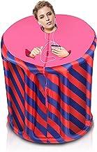 YUXINCAI Draagbare verwarmer Sauna Box Binnen, Full Body Sauna Tent Slim Gewichtsverlies Detox Therapie Home, Person Spa v...