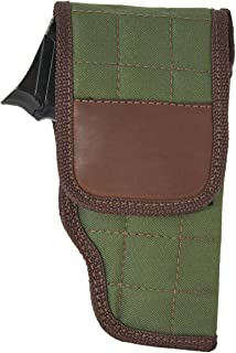 Barsony New Woodland Green OWB Flap Holster for Compact 9mm 40 45 Pistols