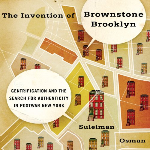 The Invention of Brownstone Brooklyn audiobook cover art