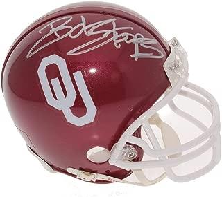 Bob Stoops Autographed Signed Oklahoma Sooners Mini Helmet - Certified Authentic