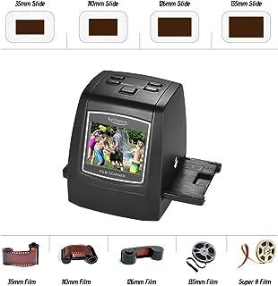 Tykeed Film Scanner,Film Scanner High-Resolution 14MP/22MP Film Slide Scanner Convert 35mm 135mm 126mm 110mm 8mm Color Mon...
