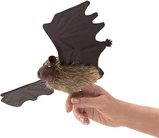 Folkmanis 3127 Little Brown Bat Finger Puppet, One Size, Multicolor