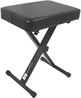 OnStageStands KT7800 折りたたみ式 椅子/イス キーボード・ピアノ演奏・ギター弾き語りにオススメ (オンステージスタンド)