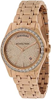 Michael Kors Women's Kiley Watch, Rose Gold, One Size