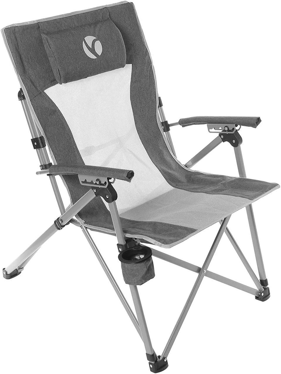 Rock Cloud Charlotte Mall Folding Camping Chair Max 84% OFF Portable Chairs Position Camp 4