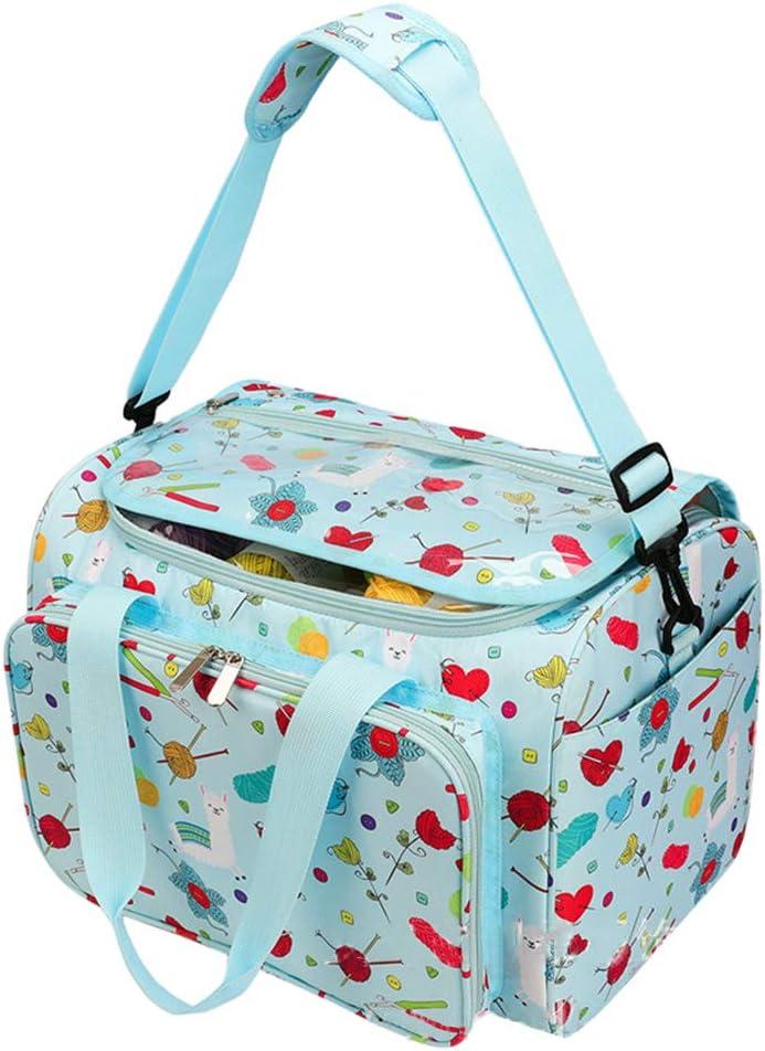 MISHITI DIY Yarn Storage Bag Knitting Max 43% OFF Cro Tote Travel Thread Rare