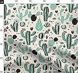 Geometrisches Design, Muster, Grün, Wüste, Arizona,
