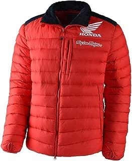 Troy Lee Designs Mens Official Licensed Honda Travel/Puff Jacket