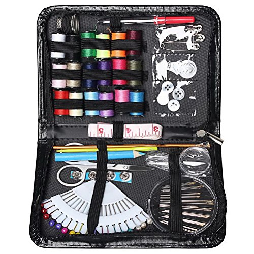 Sewing Kit, Color Scissor Premium Quality Mini Tailor Kit Travel Sewing Accessories For Adults, Tailor, Home And Emergency