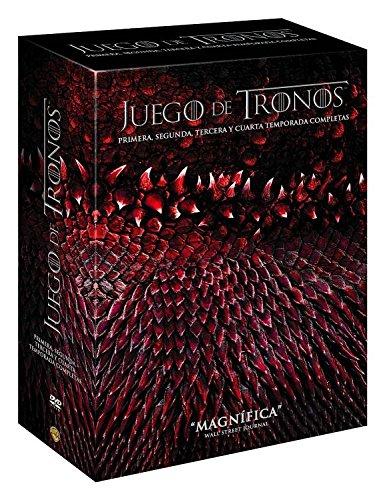 Juego De Tronos: T1-T4 (Hbo) [DVD]