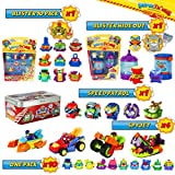 SuperThings Secret Spies Serie – Blíster 10 Pack y 16 Sets Sorpresa | Contiene...