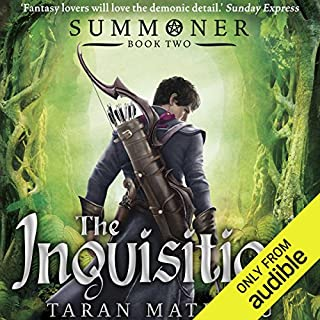 The Inquisition audiobook cover art
