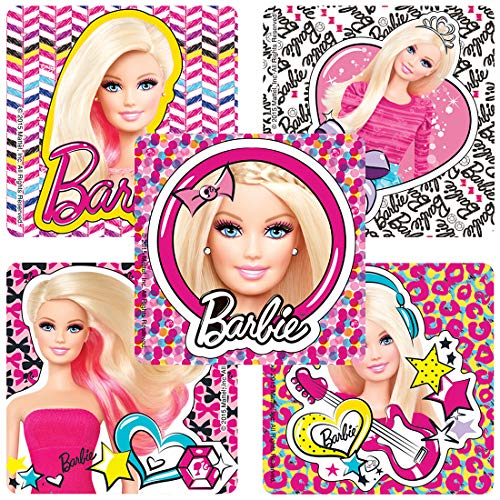 SmileMakers Barbie Pics Stickers - Prizes 100 per Pack