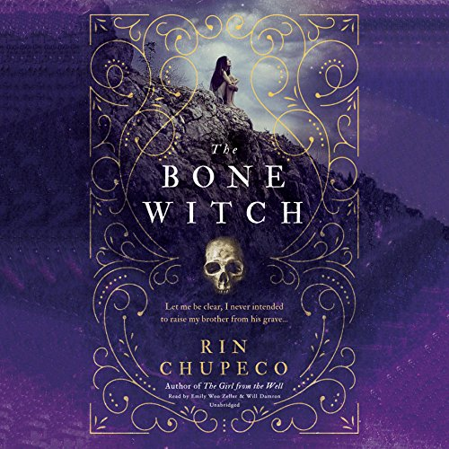 The Bone Witch audiobook cover art