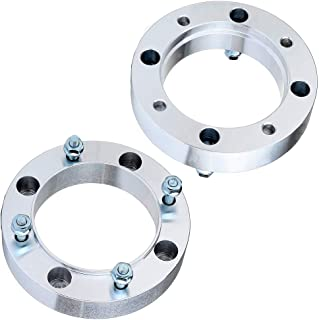 ECCPP 4 Lug hub Centric Wheel Spacers 1.5 inch 4x156mm 131mm Compatible with Polaris Outlaw 50 90 450 500 525/Predator 500/Ranger 400 425 500 700 800 with 3/8