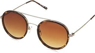 Titan Polarized Round Men's Sunglasses - (GC262BR1P 52 Brown Color)