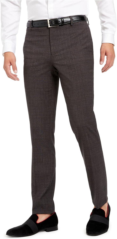 I.N.C. International Concepts INC Mens Gray Straight Leg Slim Fit Pants 32W/ 32L