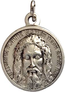 I G J The Holy Face Shroud of Jesus Christ Medal - Real Italian Masterpiece