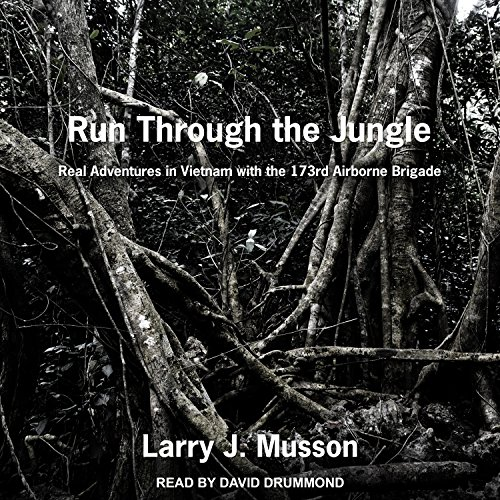 Run Through the Jungle audiobook cover art