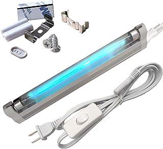 6W 除菌UV 紫外線殺菌 オゾンがあるポータブル 99.99%抗菌 殺菌ランプ 紫外線UV 殺菌灯 紫外線UVライト 空気清浄・消臭機能付き...