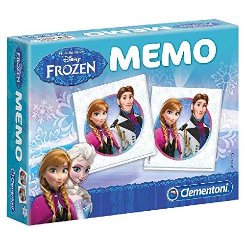 Clementoni 13483.0 - Memo Compatto Frozen - Il Frozen