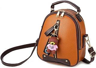 FTSUCQ Womens Casual Daypack Satchels Shoulder Handbags Casual Bucket Bag Hobos Satchels Purse