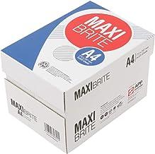 APP 自然色 コピー用紙 MAXI BRITE A4 白色度87% 紙厚0.09mm 2500枚(500枚×5冊)
