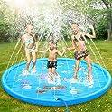 Tomser 69 Inch No More Burst Sprinkle and Splash Play Mat
