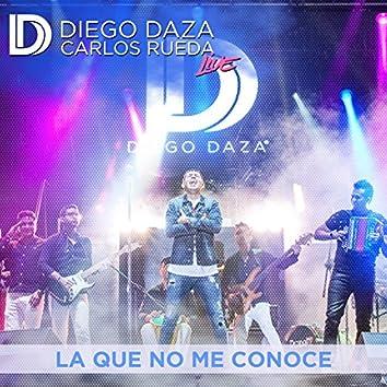 La Que No Me Conoce (Live) - Single