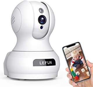 Baby Monitor Camera, Wansview 1080PHD Wireless Security Camera for Home, WiFi Pet Camera for Dog and Cat, 2 Way Audio, Night Vision, Works with Alexa Q6-W … Baby Monitor with Remote Pan-Tilt-Zoom Camera and 3.2'' LCD Screen, Infrared Night Vision (Black) Nooie Baby Monitor, WiFi Pet Camera Indoor, 360-degree Wireless IP Nanny Camera, 1080P Home Security Camera, Motion Tracking, IR Night Vision, Works with Alexa, Two-Way Audio Baby Monitor WiFi Smartphone, Lefun WiFi Baby Monitor with Camera and Audio, Pet Camera with Cloud Storage Two Way Audio Remote Viewing Pan Tilt Zoom Night Vision Motion Detect for Indoor Home