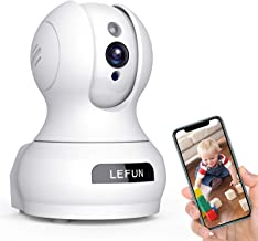 Best Baby Monitor, Lefun WiFi IP Security Camera Surveillance Pet Camera with Cloud Storage Two Way Audio Remote Viewing Pan Tilt Zoom Night Vision Motion Detect for Indoor Home Shop Office Review