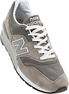 997 Men's Sneakers Made in USA Grey/White M997gy