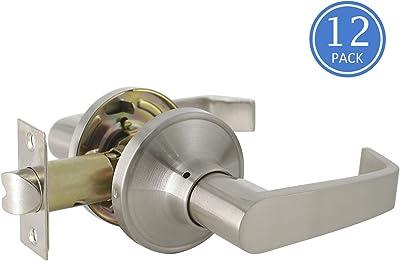 Satin Chrome Design House 701979 C-Series 2-Way Adjustable Entry Door Handle