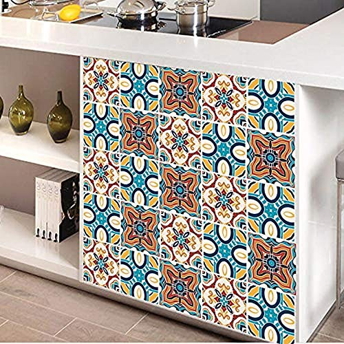 Tile Stickers Decor-Great for Room,Livingroom,Walls,Kitchen,Bedroom and More, Wall Stickers Decals (A6)